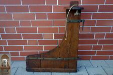 68 x 56 cm altes Ruderblatt Holz Steuerblatt Klinker Boot Handwerksarbeit 3,6 kg