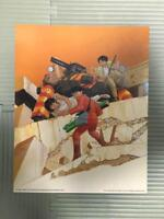 AKIRA ART POSTER SET OF 4 COLLECTIBLE SF MANGA COMIC ANIME JAPAN NEW VERY RARE