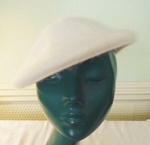 COOL CREAM SO SOFT LADIES CAP HAT MIXED FIBRE WARM COSY CHIC M/L 57 CENTIMETRES