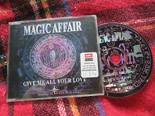 Magic Affair Give Me All Your Love CDL Cologn 7243 8 81594Stickered UK CD Single