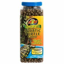 Zoo Med Maintenance Formula Natural Aquatic Turtle Food net weight 12 oz best prices on ebay