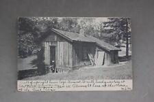 General Grant Civil War Headquarters Cabin Point Virginia 1864-65 Photo Postcard