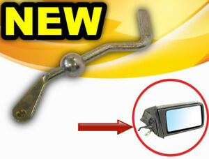 MERCEDES 190 W201 EXTERIOR WING REAR VIEW MIRROR GRIP HANDLE ADJUSTER REGULATOR