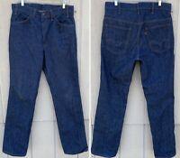 """Vintage Levis 519 0217 Jeans Orange Tab Talon 42 Zipper Measure 34 X 32 3/4"""""""