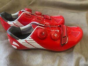 Bontrager XXX Cycling Road Shoes, Red/white, EU40