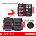 Water-Resistant Memory Card Case Holder Box fits 6 CF  12 SD 18 Micro SD Cards