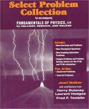 Select Problem Collection to accompany Fundamentals of Physics, Halliday, David,