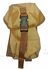 Small Utility Pouch in British Desert DPM - 3x3x7.5 Inches - Molle