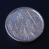 Franklin Mint Sterling Silver Mini-Ingot: 1906 San Francisco Earthquake
