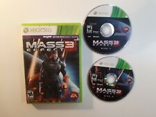 Mass Effect 3 (Xbox 360) BOTH 2 DISC - CANADA - FAST FREE SHIPPING
