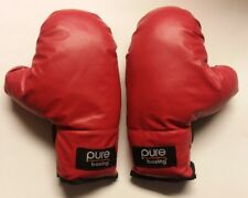 Pure Boxing Youth Kids Boxing Starter Gloves 6 oz Padded Red Ages 4 To 7