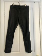 ENA PELLY LEATHER PANTS Size L (12)