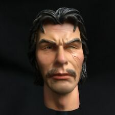 Did 1:6 Scale Character Head With Black Hair