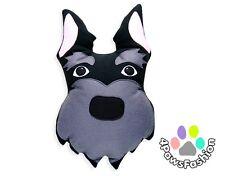Scottish Terrier Throw Pillow. Stuffed Art Toy. Handmade Kids Plush Dog.