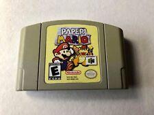 Paper Mario N64 (Nintendo 64, 2001) Authentic!