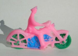 VINTAGE RARE HARLEY DAVIDSON MOTORCYCLE POLICE HUBLEY AUBURN MEXICAN TOY PINK