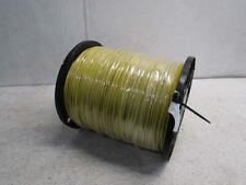 New listing Extreme Dog Fence Wire 1460A Ultra Thick 60 Mil Polyethylene 2000 Ft Yellow