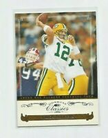 AARON RODGERS (Green Bay Packers) 2006 DONRUSS CLASSICS CARD #37
