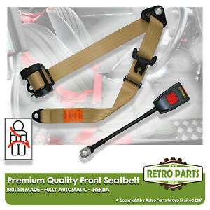 Front Automatic Seat Belt For Daihatsu Charade Hatchback 5dr 1978-1993 Beige