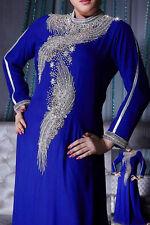 ELEGANT Moroccan Kaftan Long Maxi Dress Abaya Jilbab Islamic Kheleeji jalabiya09