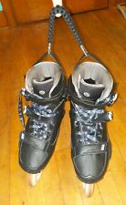 Rollerblade Holder Inline Skate Handle Paracord Strap Clip Black & Silver