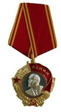 Soviet Order of Lenin. Type 5 with 1pc hanger