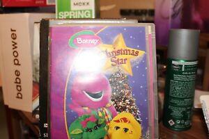 Barney - Christmas Star (DVD, 2003)used