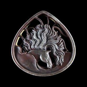 Horse Through-Carve Pendant Bead GE419002