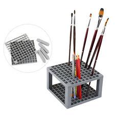 Pencil Pen Paint Brush Holder Organizer Storage Rack Marker Plastic Pens Tidy