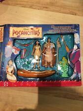 Vintage Disney Pocahontas Playset Action Figures With Chief Powhatan Boxed (13)