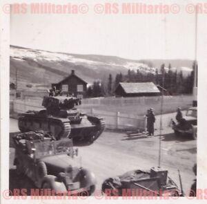 Neubaufahrzeug Neubau-Panzerkampfwagen IV Vormarsch in Norwegen 1940 #1