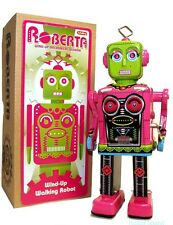 Roberta Space Robot Tin Toy Windup Maria Metropolis Schylling Toys NEW!