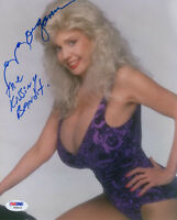 MORGANNA SIGNED AUTOGRAPHED 8x10 PHOTO + THE KISSING BANDIT VERY RARE PSA/DNA
