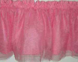 Valance Pink with Four Layers of Pink Tulle 60 inches Girl's Ballet Dancer Tutu