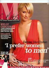 DENISE VAN OUTEN - BILLIE PIPER - CELEBS  MAG - 6 APRIL 2003