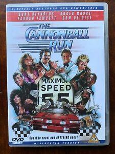 The Cannonball Run DVD 1981 Comedy Race Road Movie w/ Burt Reynolds Jackie Chan