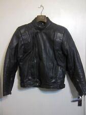 VINTAGE 80's DISTRESSED BELSTAFF LEATHER MOTORCYCLE JACKET SIZE 44