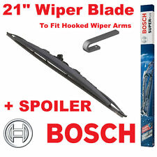 """Bosch 21"""" Inch Super Plus Universal SPOILER Wiper Blade SP21S For Hooked Wiper A"""