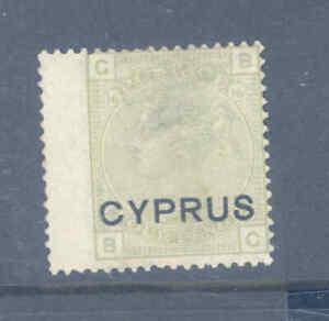 BRITISH COMMONWEALTH CYPRUS 4 PENCE SAGE GREEN FINE MINT..............1