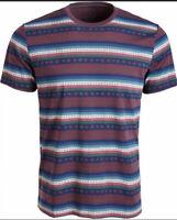 American Rag Mens Aztec Print Crew T-Shirt, L