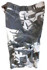 Wrangler BOYs Cargo Shorts Camouflage White & Gray Size 12 Reg