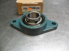 DODGE 125878-F2B-SC-30MM - 2 Bolt Flange Bearing - 2 set screws-w/Zirk-new-