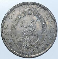 More details for scarce george iii bank of england dollar, 1804 silver coin, prooflike, au