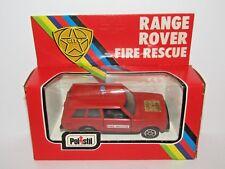 POLISTIL RANGE ROVER FIRE RESCUE 1/43 79A