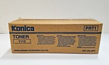 LOT OF 4 Genuine New In The Boxes Konica Toner 1112 [4]UA947109