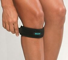 IMAK Knee Strap for Runners,Tennis, Golfers All Sports, Helps Stabilize Kneecap