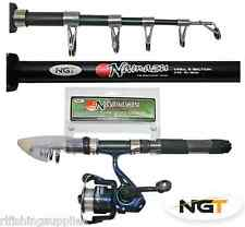 NGT NAMAZU Mini Telescopic 5ft Travel Fishing Rod Reel Combo Only 31cm Closed