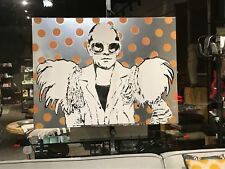 Giant Pop Art Elton John Chris P Jones Painting