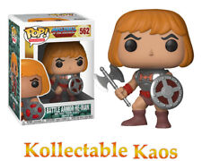 Masters of the Universe - He-Man with Damaged Armor Pop! Vinyl Figure #562
