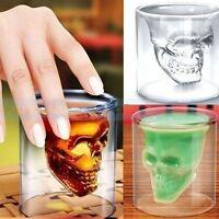 Skull Head Vodka Shot Whiskey Home Wine Beer Tea Glass Drinking Cup URXD